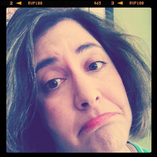 pouty pity party face