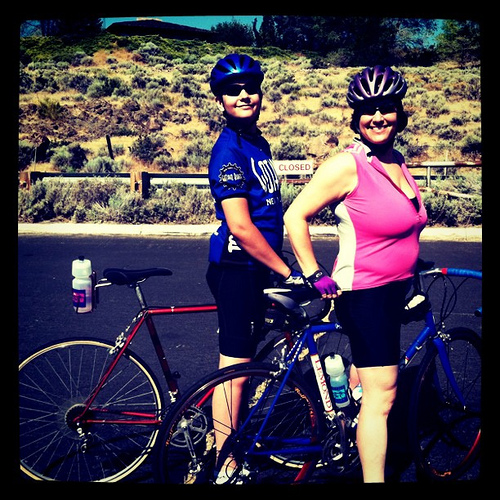 a great ride with Sam on Windy Hill in Reno