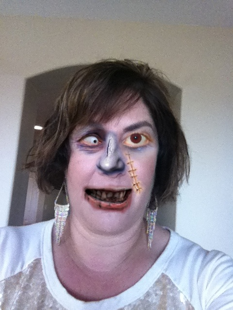 am I a zombie or a sales person?