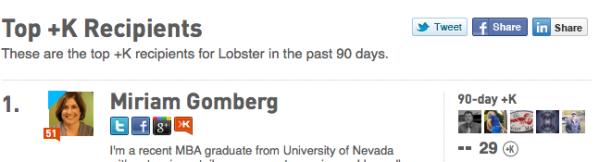 lobster queen is born