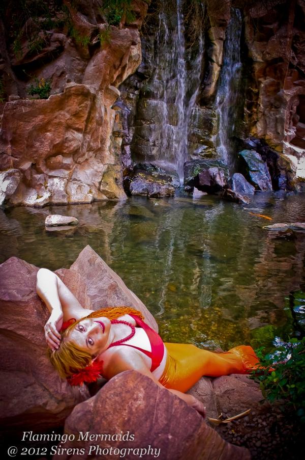 mermaid Mimi takes Vegas