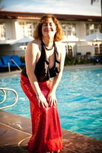 channeling my inner Marilyn during mermaid shoot