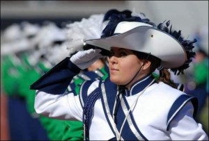 drum major for Damonte Ranch High school junior and senior years