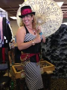 Mimi's gone steam-punk pirate