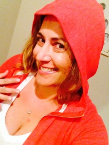 red riding hoodie