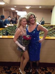 Miss Mimi and Ivanna Peach