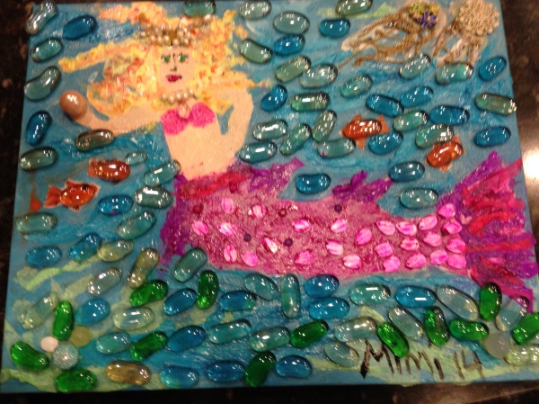 mermaid art a la mimi