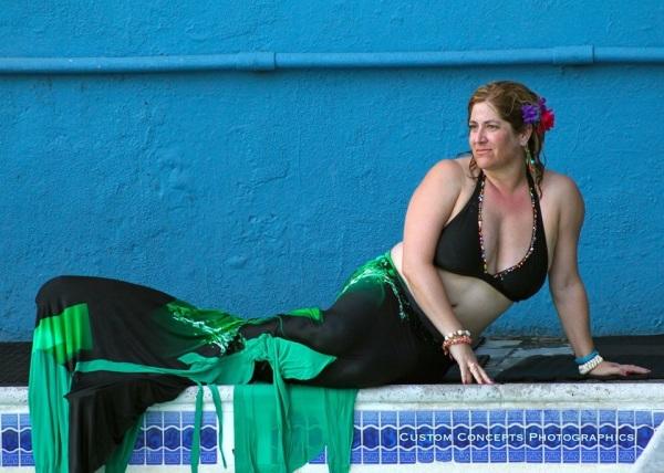 modest as a mermaid