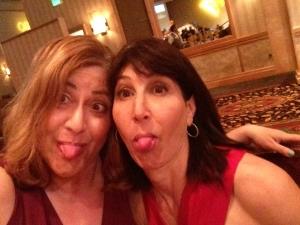 Kelli and Mim, bff's